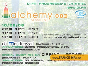 DJ Medieval Presents - Alchemy Sessions 006 (January 2009)