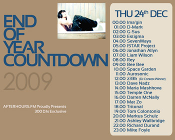 AH.FM presents - End of Year Countdown 2009 (DAY 6 - 2009-12-24)
