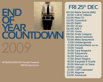 AH.FM presents - End of Year Countdown 2009 (DAY 7 - 2009-12-25)