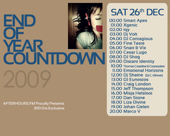 AH.FM presents - End of Year Countdown 2009 (DAY 8 - 2009-12-26)