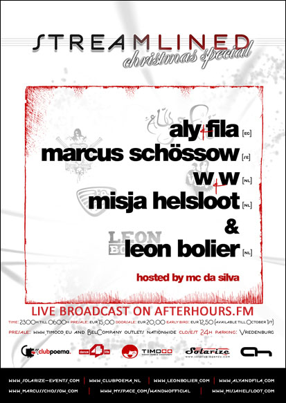 AH.FM presents - Ah Live Broadcast StreamLined (26-12-2009)
