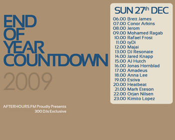 AH.FM presents - End of Year Countdown 2009 (DAY 9 - 2009-12-27)