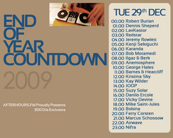 AH.FM presents - End of Year Countdown 2009 (DAY 11 - 2009-12-29)