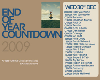 AH.FM presents - End of Year Countdown 2009 (DAY 12 - 2009-12-30)