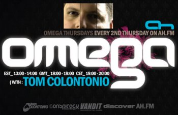 Tom Colontonio - Omega 036 on AH.FM (10-02-2011)