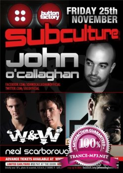 John O'Callaghan - Subculture 062 - Recorded Live at The Button Factory in Dublin 12-12-2011