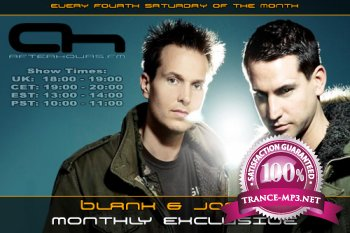Blank And Jones - Monthly Exclusive Show 25-02-2012