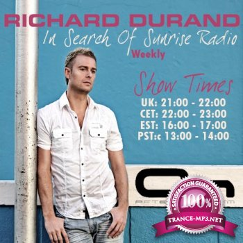 Richard Durand - In Search Of Sunrise Radio 089 25-05-2012