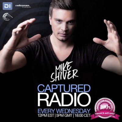 Mike Shiver - Captured Radio 444 (guests Trium) (09-12-2015)