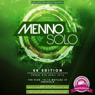 Menno De Jong - Menno Solo UK - Off The Rails, Sheffield (2016-04-08)