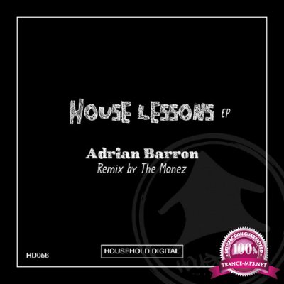 Adrian Barron -  House Lessons Ep (2016)