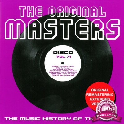 The Original Masters, Vol. 4 the Music History of the Disco (2016)