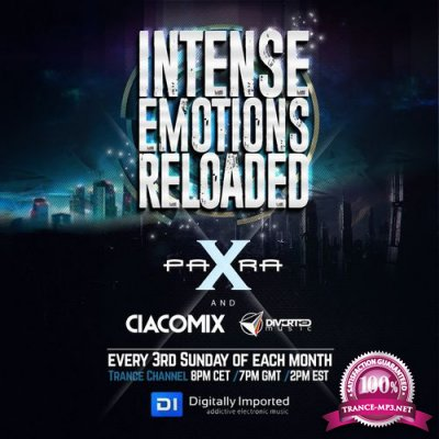 Para X & Ciacomix - Intense Emotions Reloaded 010 (2017-05-21)