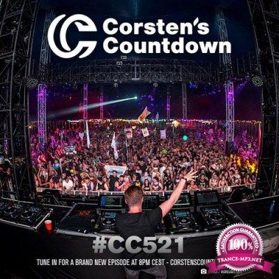 Ferry Corsten - Corsten's Countdown 521 (2017-06-21)
