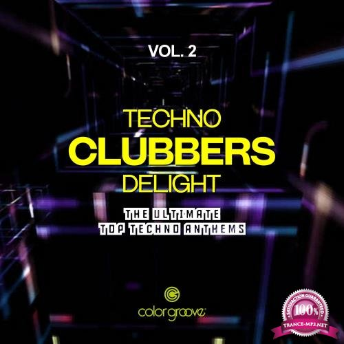 Techno Clubbers Delight, Vol. 2 (The Ultimate Top Techno Anthems) (2017)