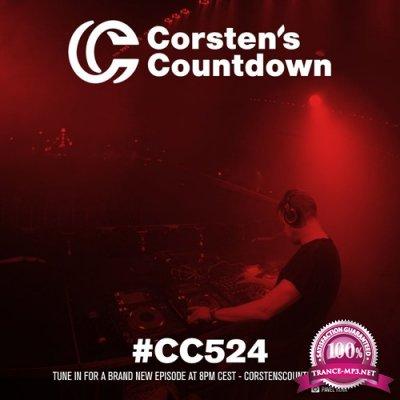 Ferry Corsten - Corsten's Countdown 524 (2017-07-12)