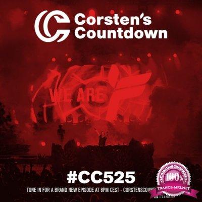 Ferry Corsten - Corsten's Countdown 525 (2017-07-19)
