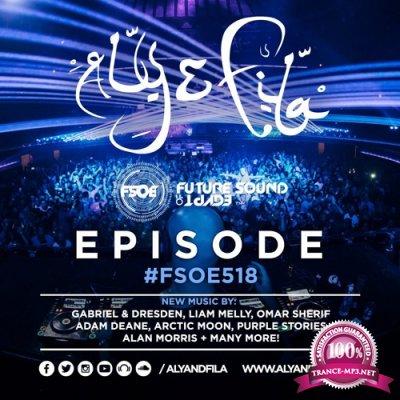 Aly & Fila - Future Sound of Egypt 518 (2017-10-18)