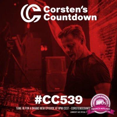 Ferry Corsten - Corsten's Countdown 539 (2017-10-25)