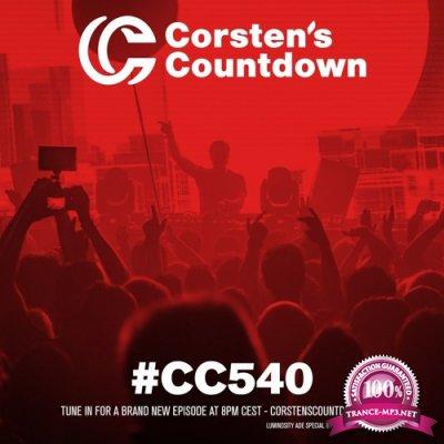 Ferry Corsten - Corsten's Countdown 540 (2017-11-01)