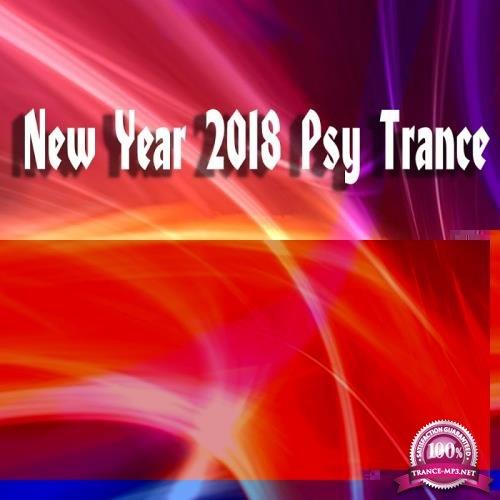 New Year 2018 Psy Trance (2017)