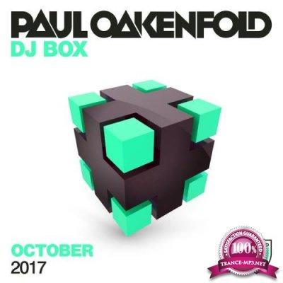 Paul Oakenfold - Dj Box October  2017 (2017)