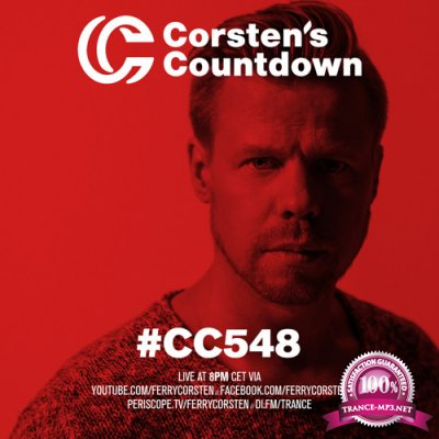 Ferry Corsten - Corsten's Countdown 548 (Yearmix 2017) (2017-12-27)