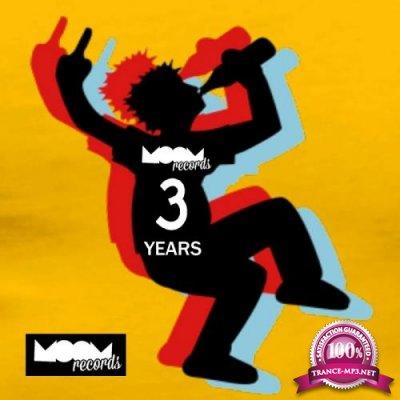 Moom Records: 3 Years Va (2017)