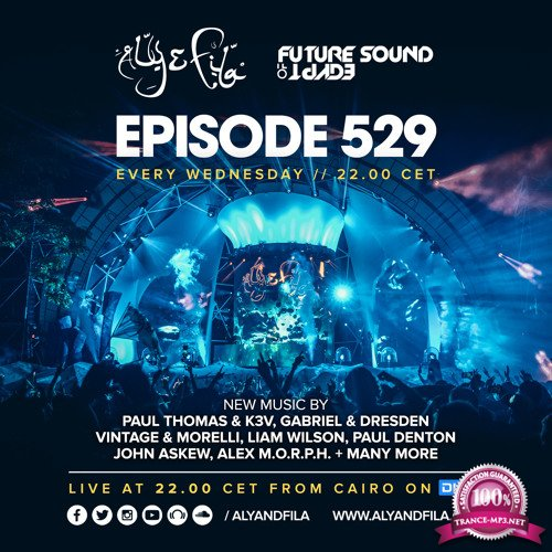Aly & Fila - Future Sound of Egypt 529 (2018-01-03)