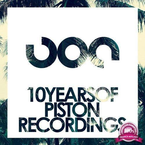 10 Years Of Piston Recordings (2018)