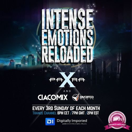 Para X & Ciacomix - Intense Emotions Reloaded 018 (2018-01-22)
