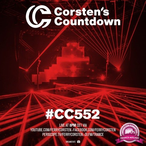 Ferry Corsten - Corsten's Countdown 552 (2018-01-24)