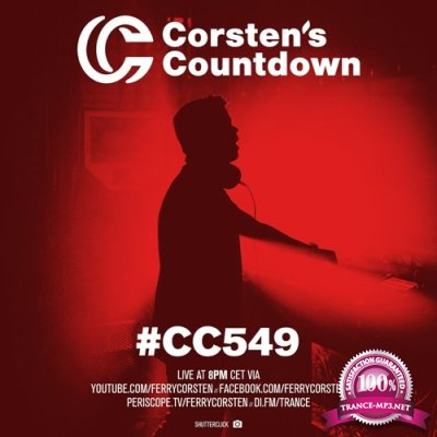 Ferry Corsten - Corsten's Countdown 549 (2018-01-03)