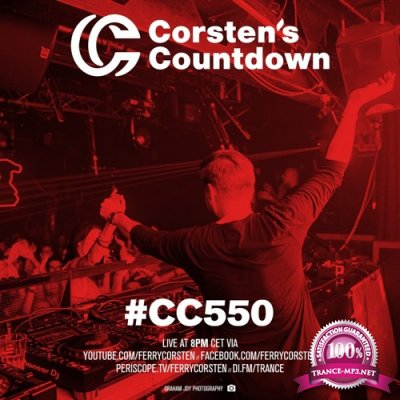 Ferry Corsten - Corsten's Countdown 550 (2018-01-10)