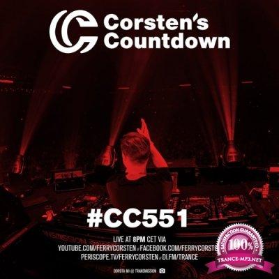 Ferry Corsten - Corsten's Countdown 551 (2018-01-17)