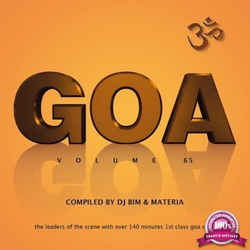 Goa, Vol. 65 (Compiled by DJ BIM & Materia) (2018)