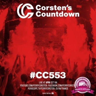 Ferry Corsten - Corsten's Countdown 553 (2018-01-31)