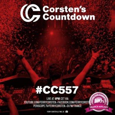 Ferry Corsten - Corsten's Countdown 557 (2018-02-28)