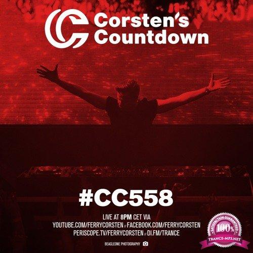 Ferry Corsten - Corsten's Countdown 558 (2018-03-07)