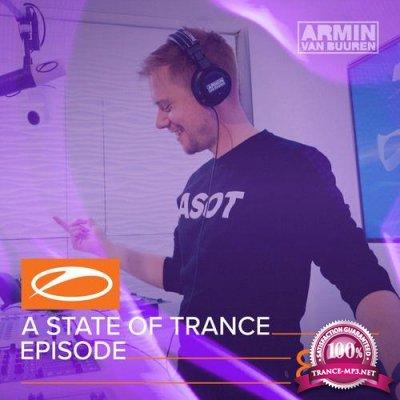 Armin van Buuren & Cold Blue - A State Of Trance 854 (2018-03-08)