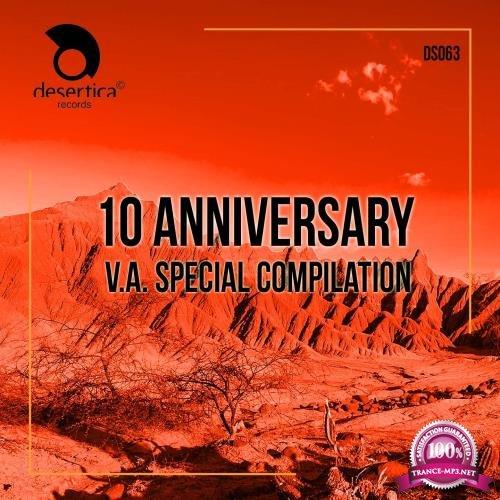 10 Anniversary Desertica Records (Special Compilation) (2018)