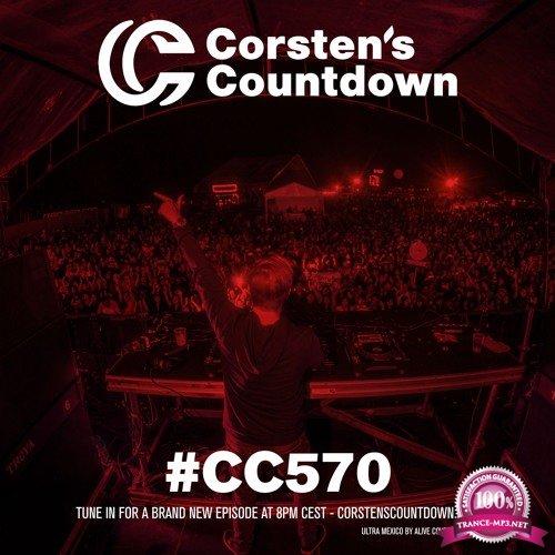 Ferry Corsten - Corsten's Countdown 570 (2018-05-30)