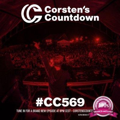 Ferry Corsten - Corsten's Countdown 569 (2018-05-23)