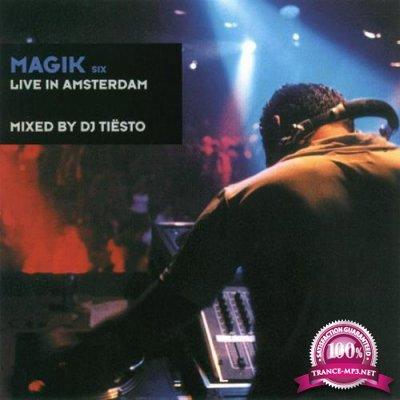 DJ Tiesto ?– Magik Six: Live In Amsterdam (2000)