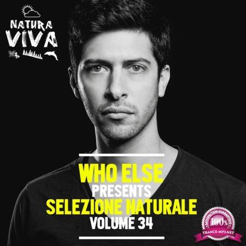 Who Else Pres. Selezione Naturale Vol. 34 (2018)