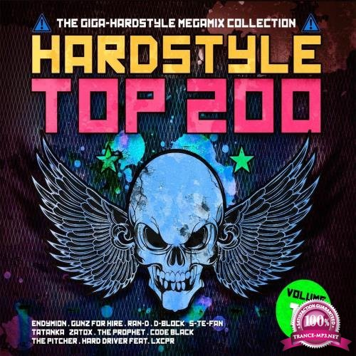 Hardstyle Top 200: The Giga-Hardstyle Megamix Collection Volume 12 (2018)