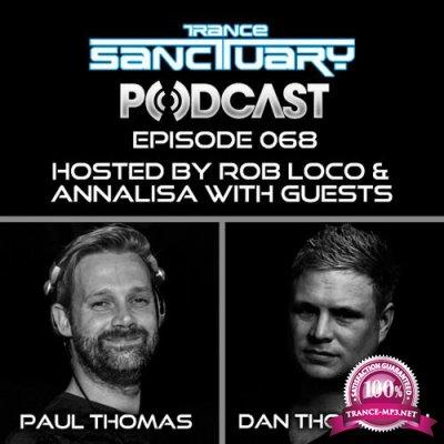 Paul Thomas & Dan Thompson - Trance Sanctuary Podcast 068 (2018-06-12)