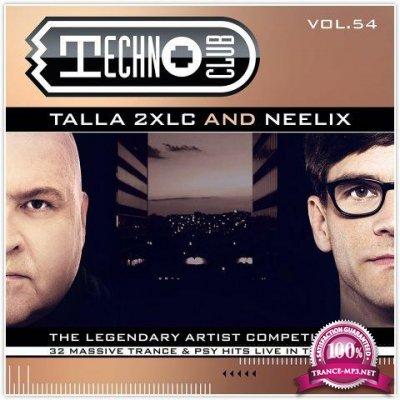 Talla 2XLC & Neelix - Techno Club Vol. 54 (2018)
