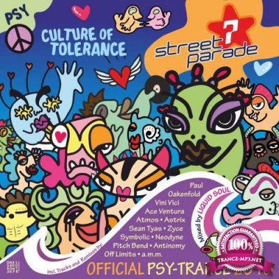 Street Parade 2018 Official Psy-Trance (Mixed by Liquid Soul) (2018)