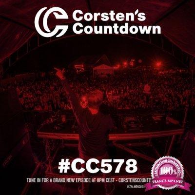 Ferry Corsten - Corsten's Countdown 578 (2018-07-25)